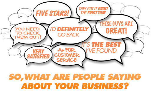 What do online reviews say about your business?