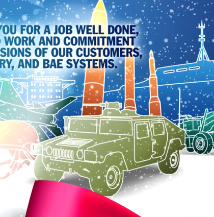 2013 Holiday Greetings - BAE Systems