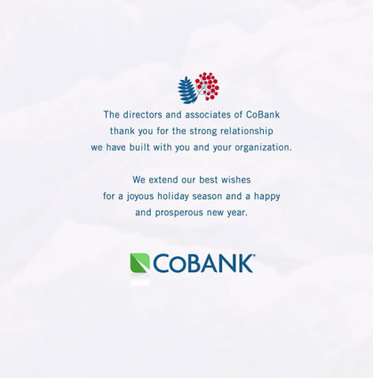 2014 Holiday Greeting - CoBank