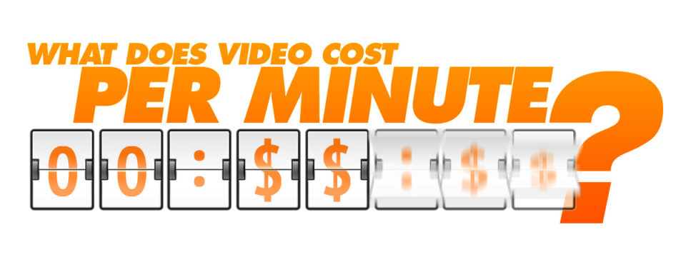 What does video cost per minute?